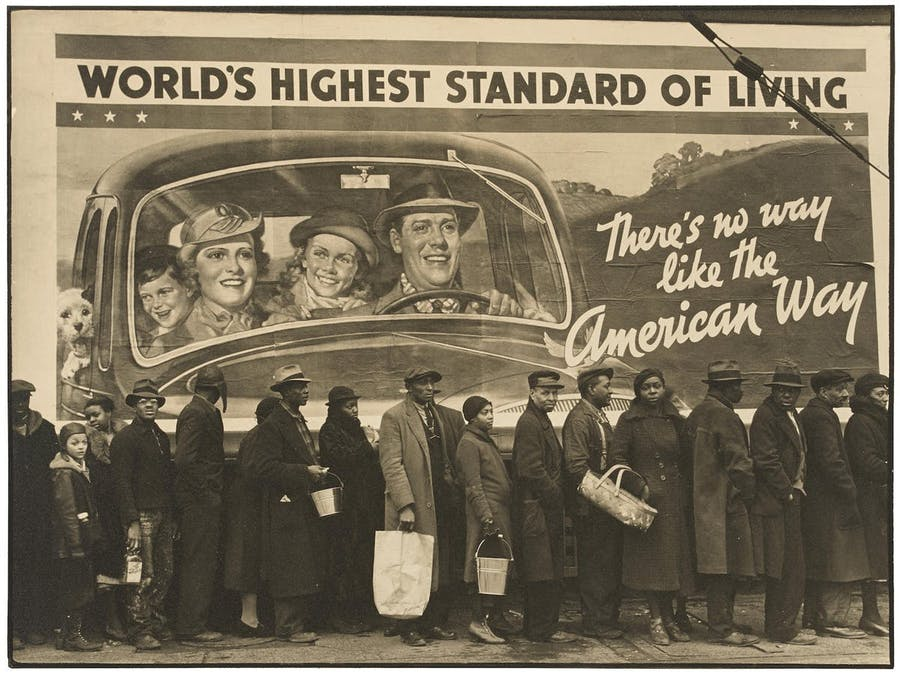 Margaret Bourke-White, 'At the Time of the Louisville Flood, Kentucky, 1937'. Photo: Bonhams