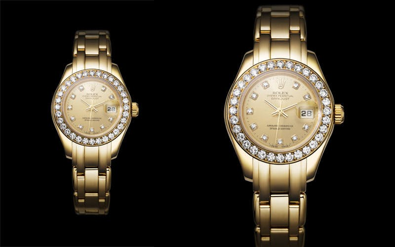 1992: Première Rolex Lady-Datejust Pearlmaster Image via magmontres.fr
