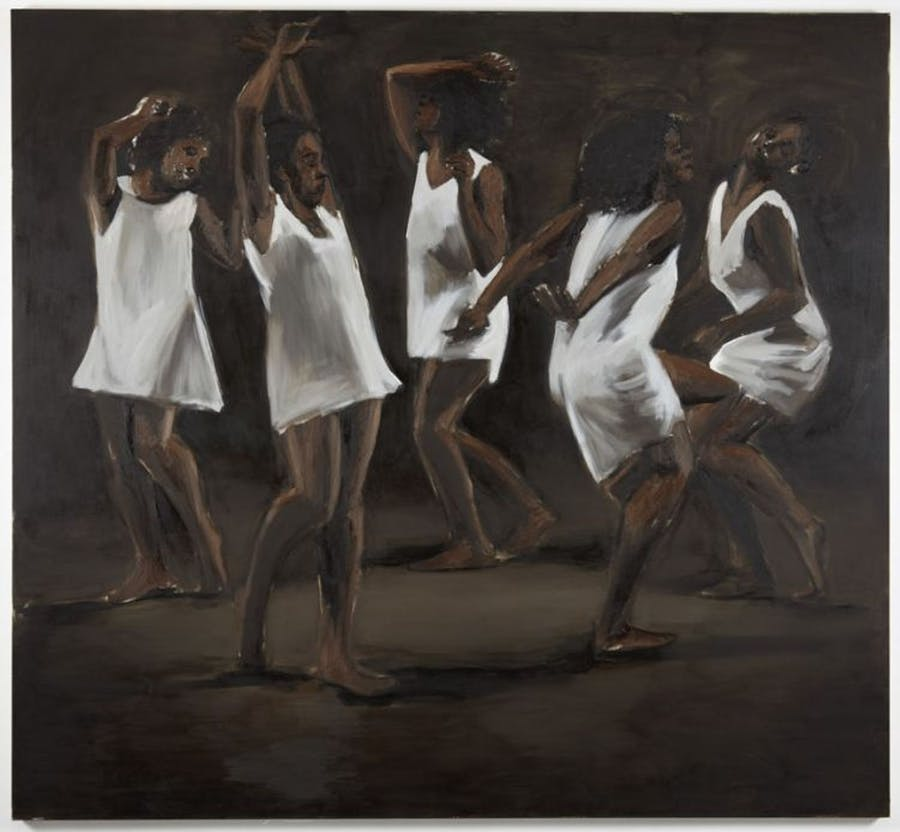Lynette-Yiadom-Boakye-The-Hours-Behind-You-2011-Oil-On-Canvas