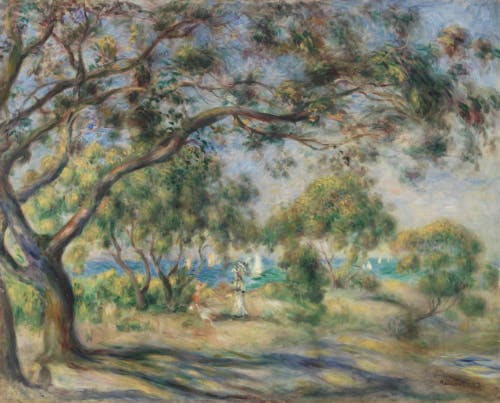Pierre-Auguste Renoir, Bois de la Chaise (Noirmoutier), oil on canvas, 1892, Barnes Foundation, Philadelphia