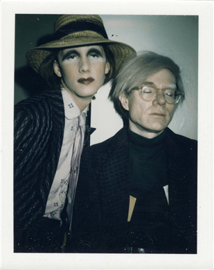 Andy Warhol et Silva Thin Andy Warhol Christie's Online Only