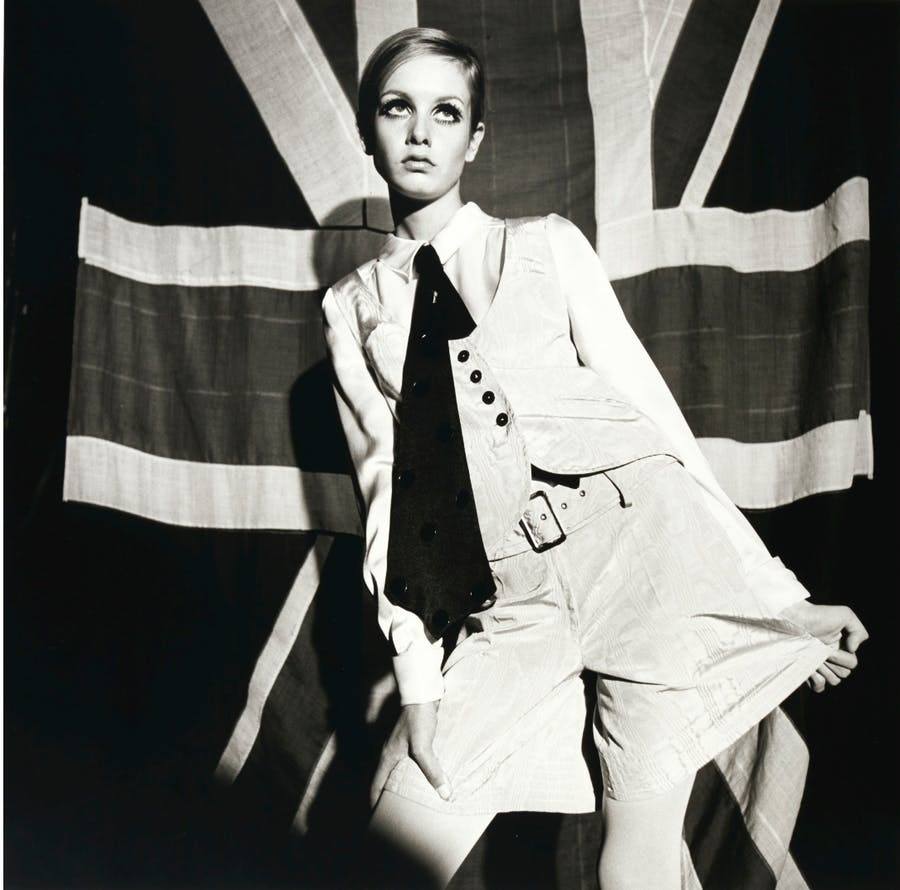Terence Donovan, 'Portrait of Twiggy', 1966. Foto: Sotheby's