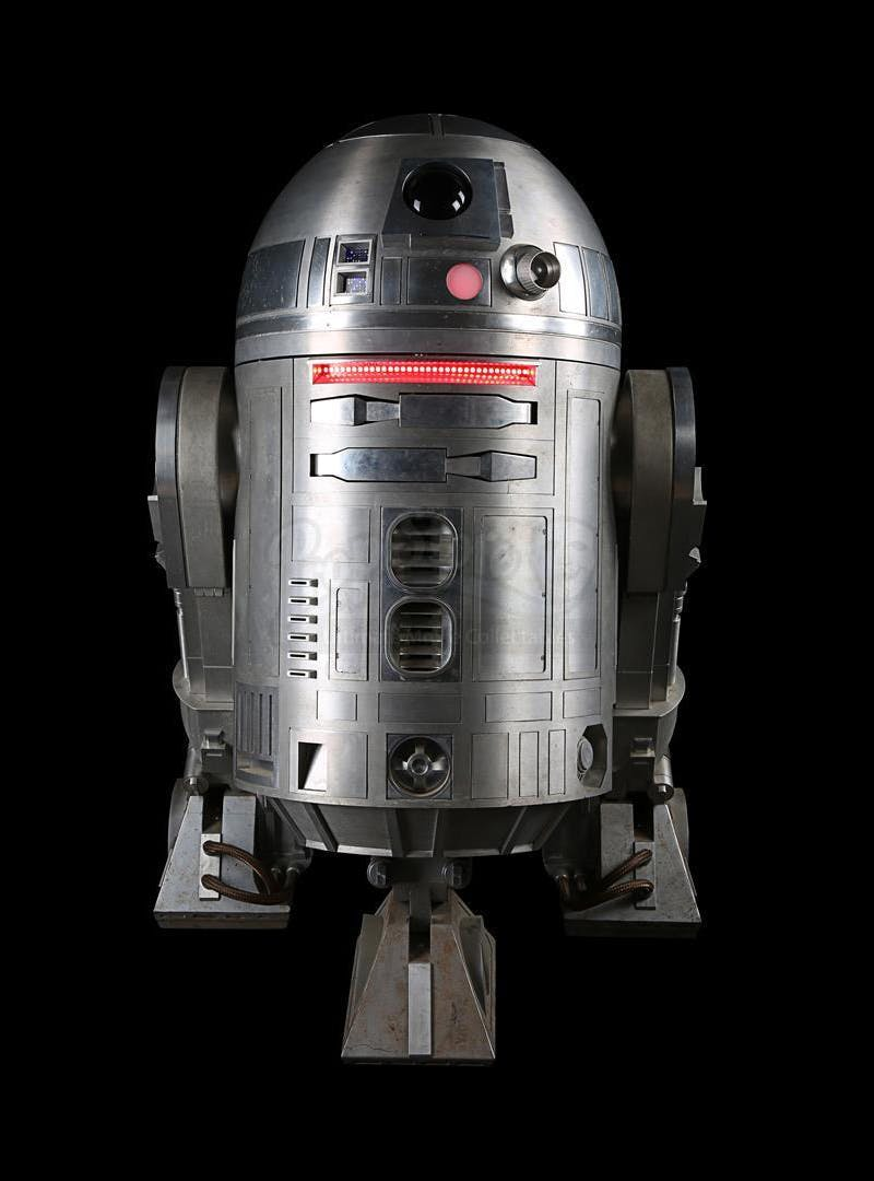 'Star Wars: Rogue One' (2016), Light-up remote control R2-BHD droid. Photo: Prop Store