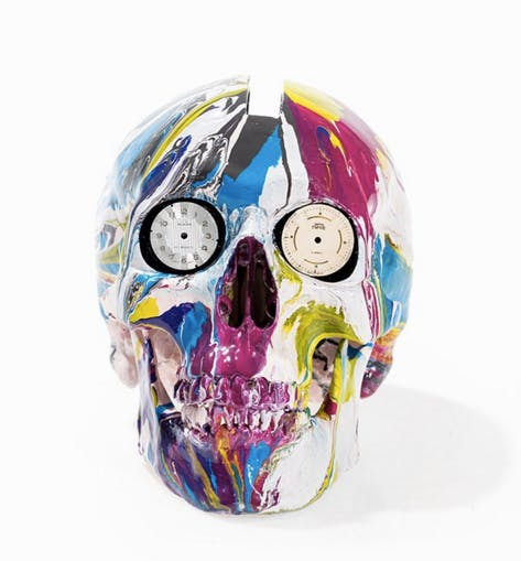 Damien Hirst The Hours Spin Skull, Sculpture, 2009 Auctionata
