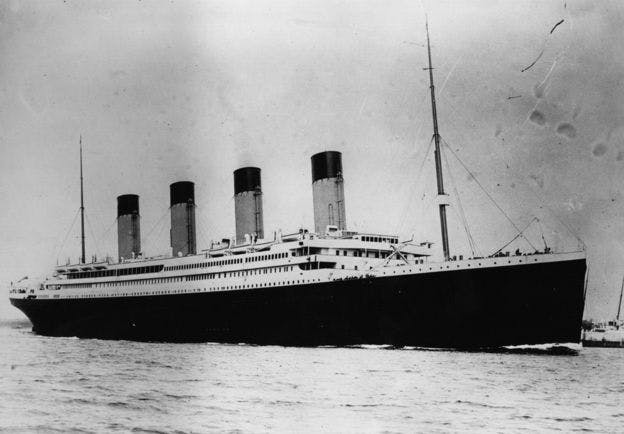 Le Titanic était considéré comme insubmersible Image: CENTRAL PRESS/ GETTY IMAGES