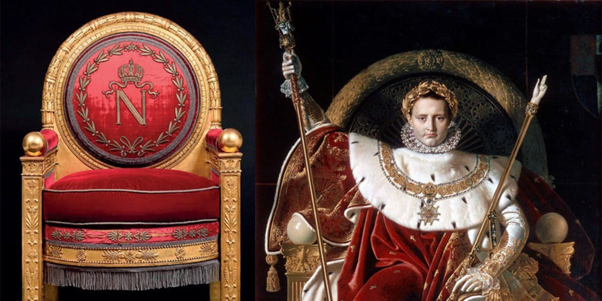 Napoleon I's Throne Sells For Half A Million Dollars