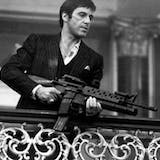 Al Pacino as Tony Montana in Scarface Image via Canvas 101