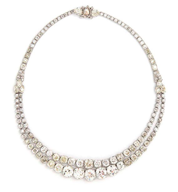 Collier diamant par Cartier, vers 1930 Estimation basse: 97 600 €