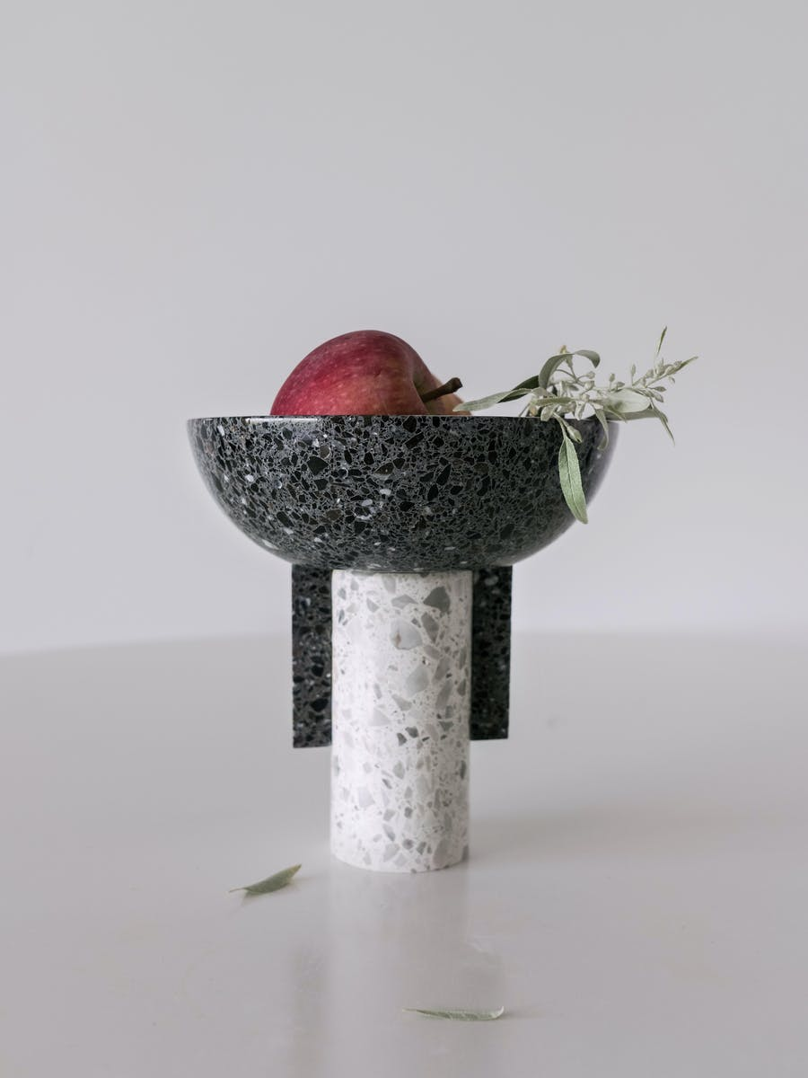 Dila Gokalp, 'KE07 Terrazzo Footed Bowl'. Photo: Adorno