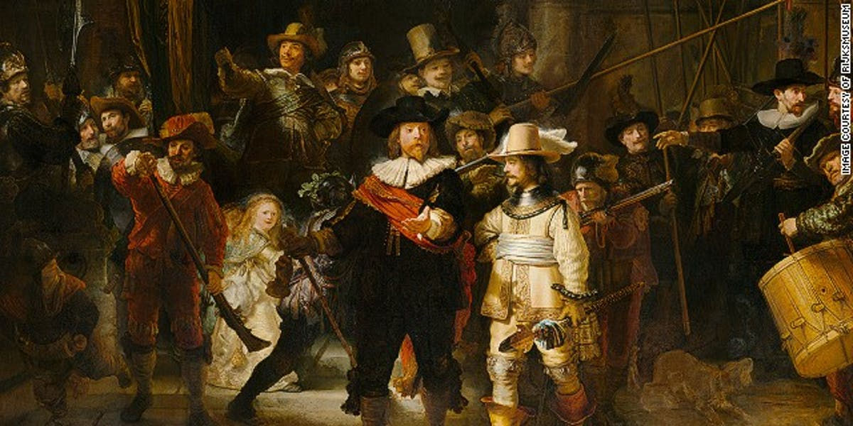 Happy Birthday Rembrandt, Born the 15th of July 1606