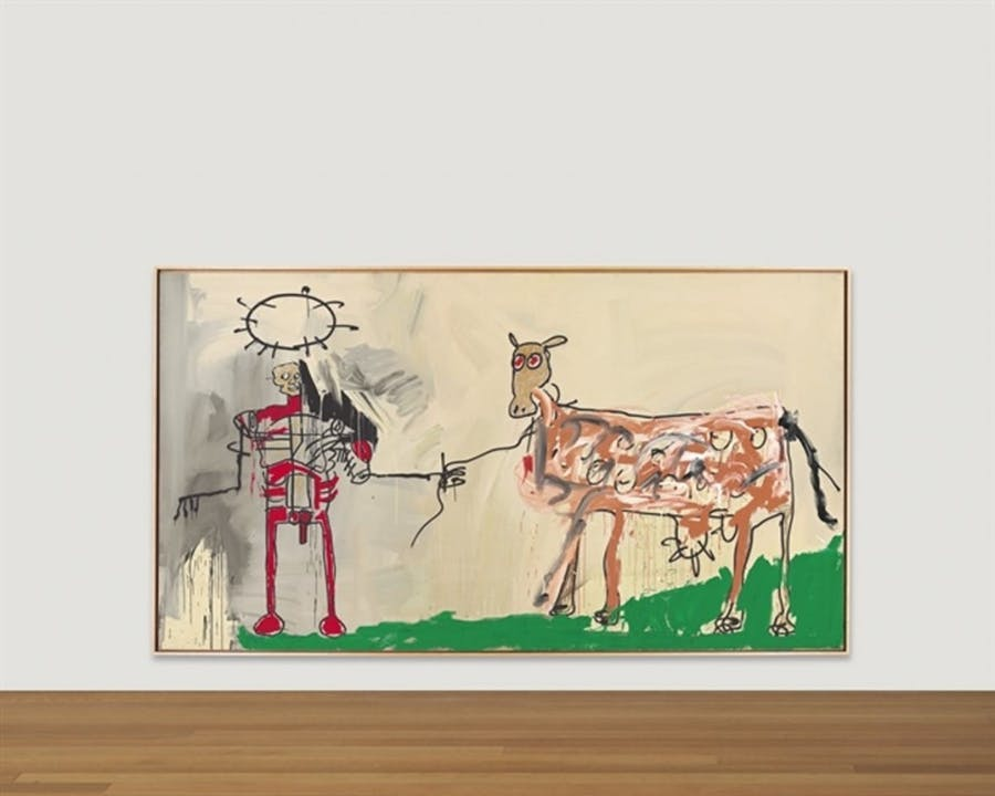 Jean-Michel Basquiat, The Field Next to the Other Road, 1981 | Foto: Christie's