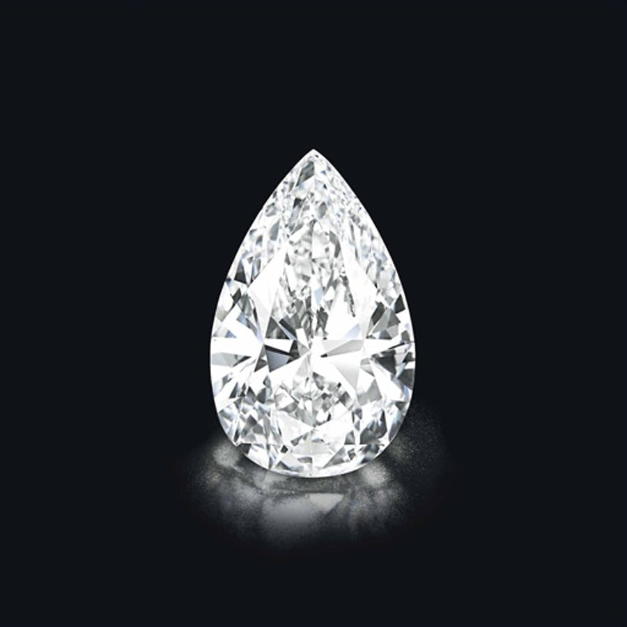 « A Spectacular and Highly Important Diamond », image ©Christie's