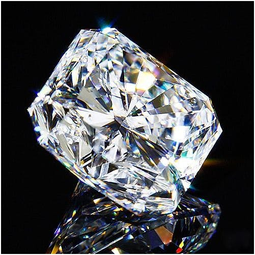 8. 2.15 ct radiant cut diamond, F LC. Estimado: 52 000 EUR. Catawiki
