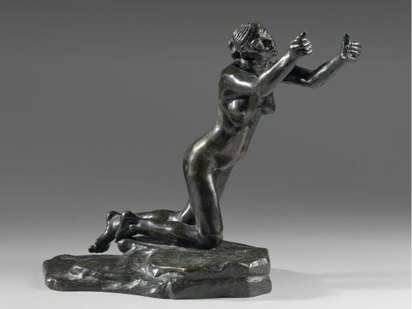 Camille CLAUDEL 1864 - 1943  L'IMPLORANTE (Petit modèle) ou L'IMPLORATION ou LA SUPPLIANTE - 1899  Bronze à patine brune
