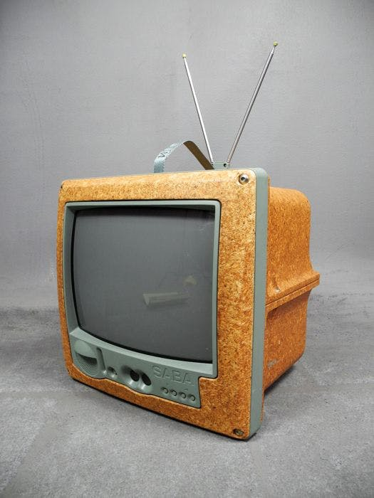 Philippe Starck, Jim Nature Portable TV, SABA, 1994
