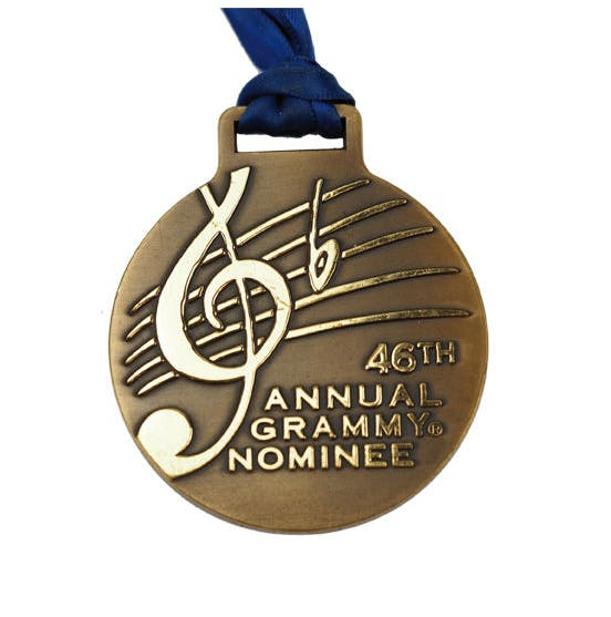 USA, 46th Annual Grammy Nominee Medal, 2004 | Foto: Bene Merenti