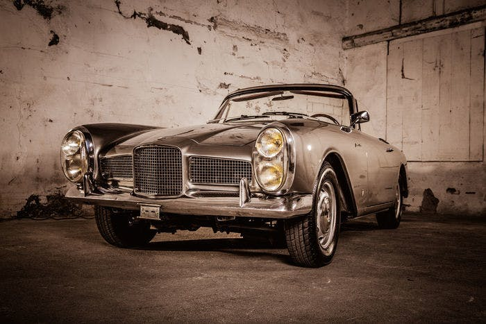 FACEL VEGA - Facellia F2 - 1963 Estimation: 40.000-52.000 EUR