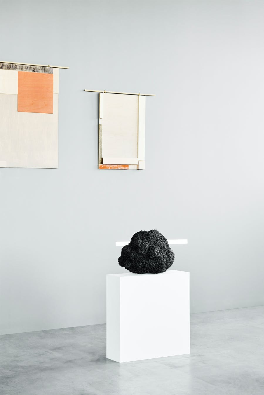 Troels Flensted, Perception Mirrors, and Stine Mikkelsen, The Art of Sitting. Photo: Tommy Frost via Adorno Gallery