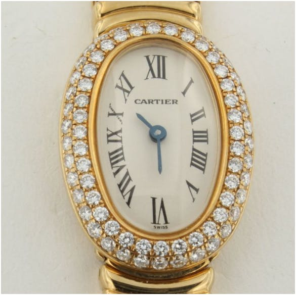 113. Cartier Mini Bagnoire - ladies' watch - from 2001. Estimado: 8 000 EUR. Catawiki