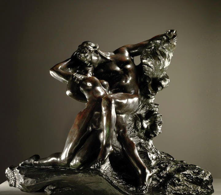 Auguste Rodin (1840-1917) Eternel printemps, second état, 1ère réduction Image via Bonhams