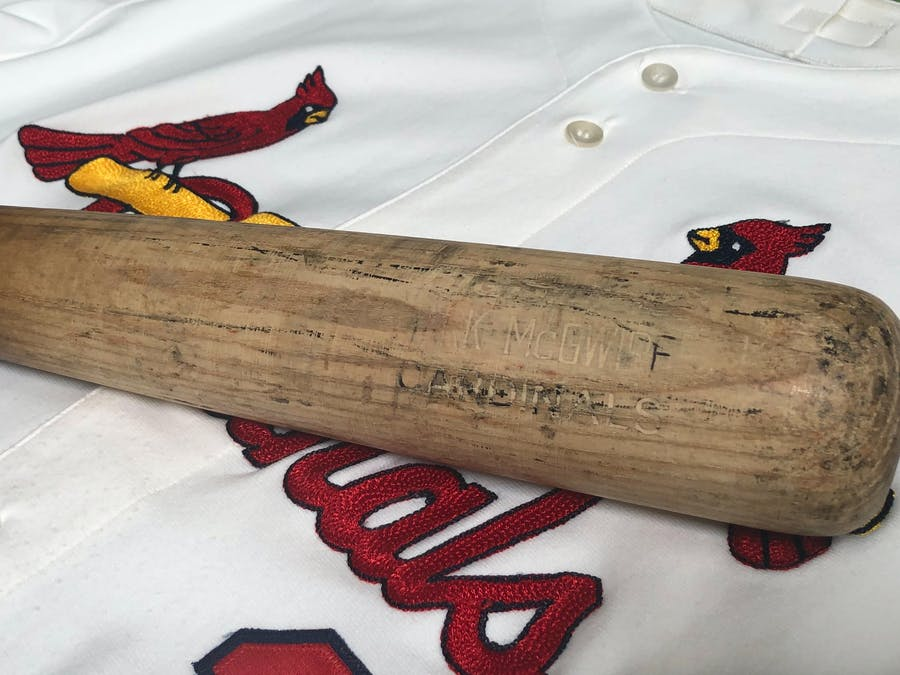 1998 Mark McGwire St. Louis Cardinals Game-Used Home Run Bat