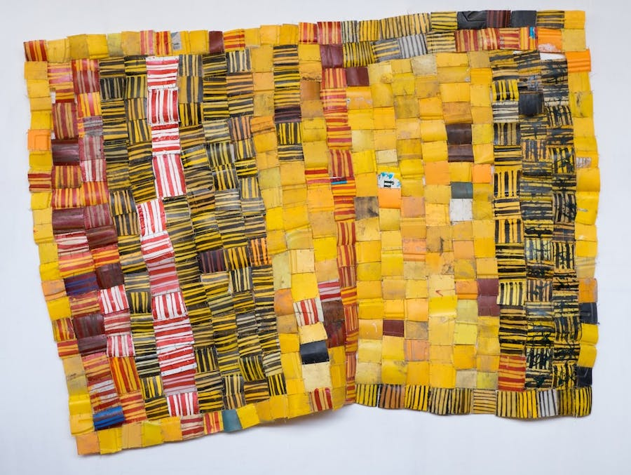 Serge Attukwei Clottey, Keeping Conditions , 2016 GNYP