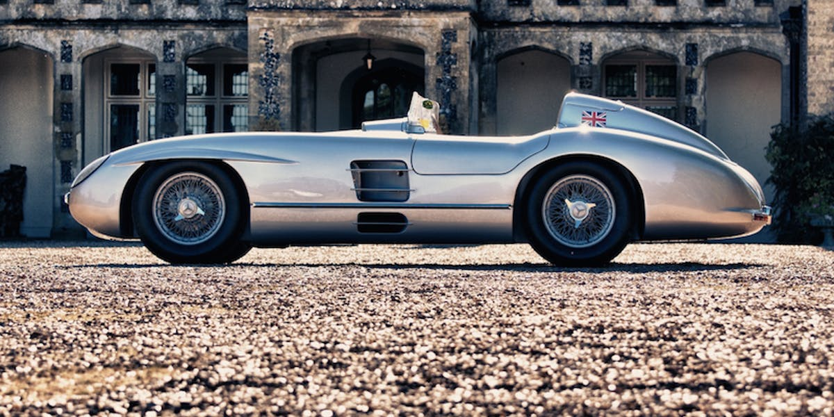 Mercedes 300SLR Recreation, 2010.