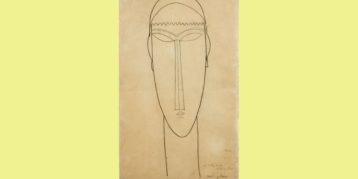 Significant Modigliani Drawings Head to Auction
