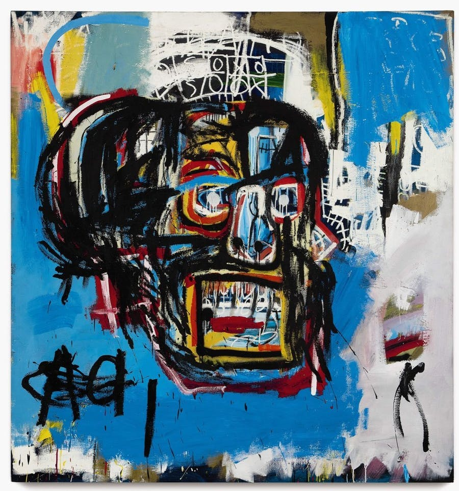 Jean-Michel Basquiat, ,Untitled, 1982, Image via Sotheby's