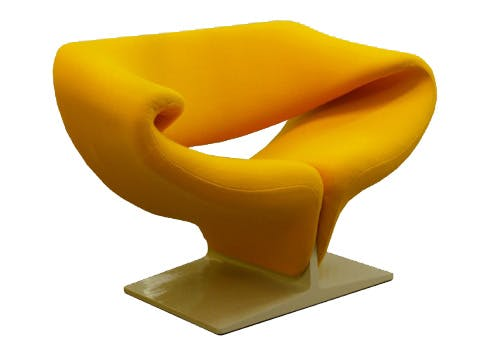 Pierre Paulin (1927-2009) Ribbon chair, F 582 Édition originale par Artifort, fin des années 60 Galerie Chantala