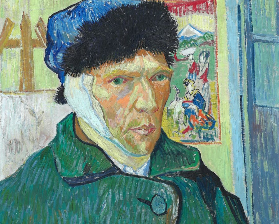 Vincent van Gogh, 'Self-Portrait with Bandaged Ear', 1889. Photo: The Courtauld Institute of Art