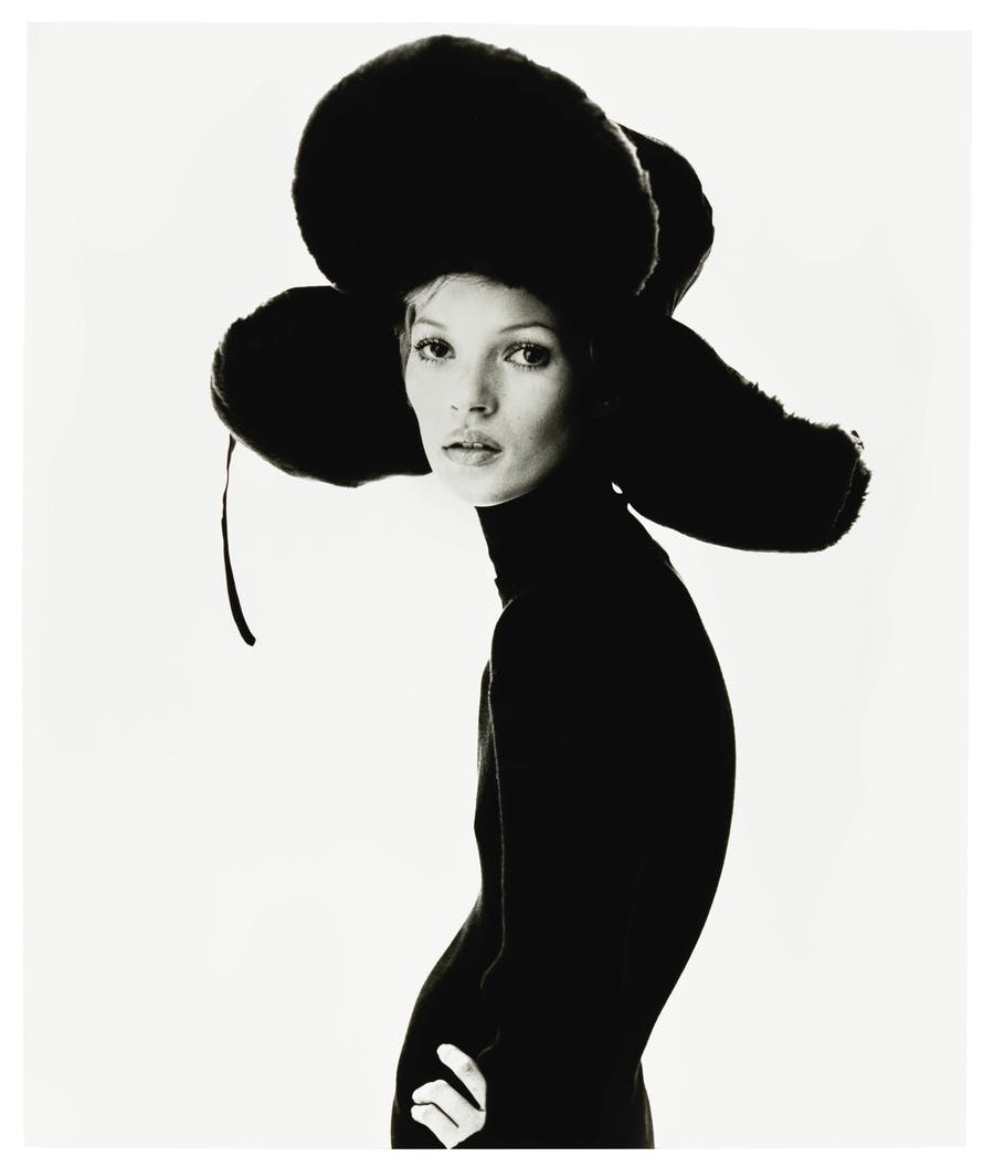 Steve Klein, 'Girl with Hat (Kate Moss)', 1993. Foto: Sotheby's
