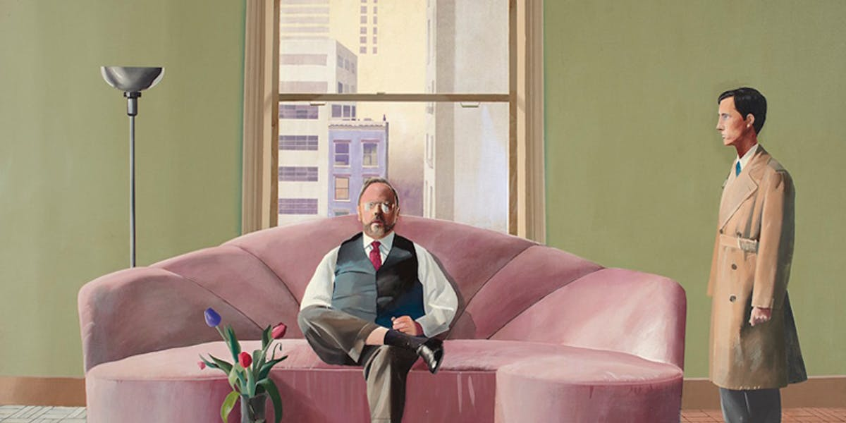 A Major David Hockney Painting Heads to Auction
