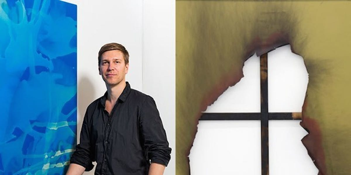 Kasper Sonne with works from his TXC and Borderline series