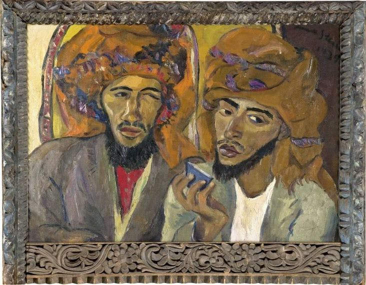 Irma Stern, « Two Arabs », 1939, vendu en 2011 pour 1 340 000 euros, image via Strauss & Co.