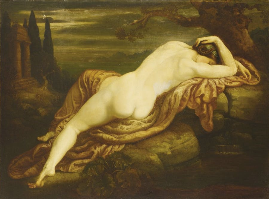 Armand POINT (Alger 1860 - Naples 1932) Biblis changée en source, 1911