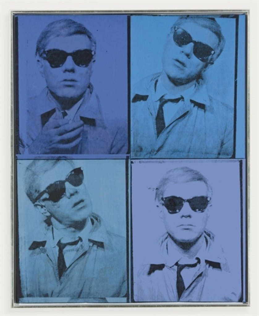Andy Warhol, 'Self-Portrait' | Foto: Barnebys