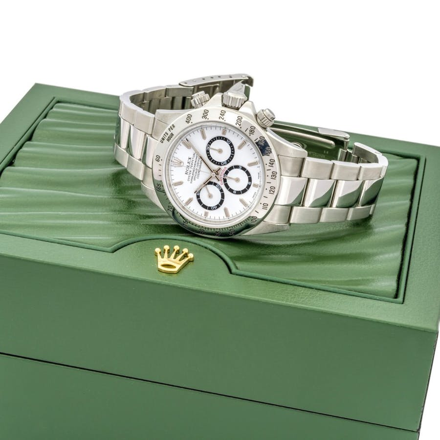Rolex Oyster Perpetual, Cosmograph Daytona Superlative Chronometer Officially Certified, réf. 16520/16500, boîtier n° A276006, mouvement n° 178909, vers 1999