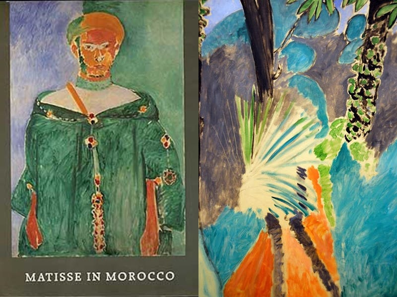 """JACK COWART. """"Matisse in Morocco: The Paintings and Drawings"""" (1912-1913)"""