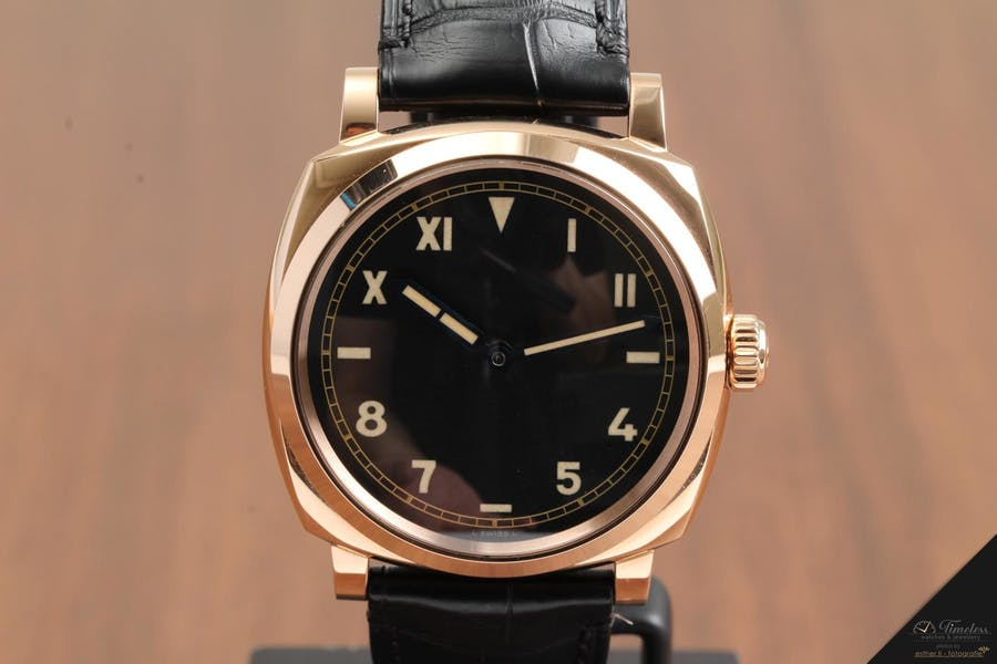 Panerai Radiomir 1940 3 Days Red Gold PAM740 | Foto: Timeless Watches & Jewellery