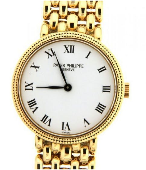 115. Patek Philippe - Calatrava 4809 - rare ladies' watch - circa 1993. Estimado: 12 000 EUR  Catawiki