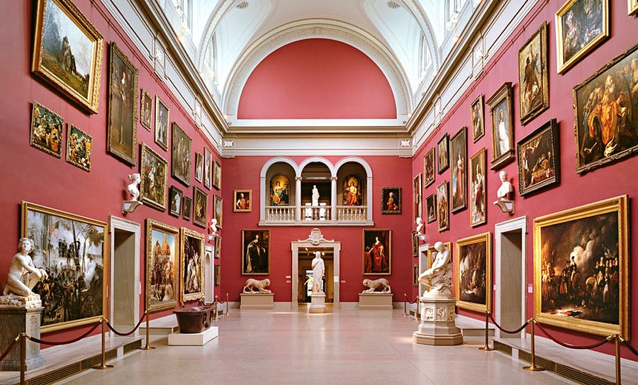 The Grand Room in the Wadsworth Atheneum. Photo: Courtesy of Smith Edwards McCoy via Observer