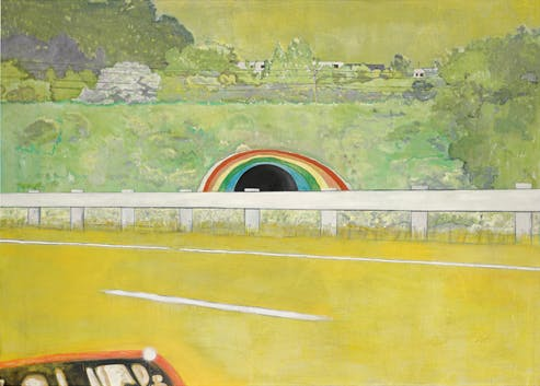 Country-Rock-Wing-Mirror-by-Peter-Doig