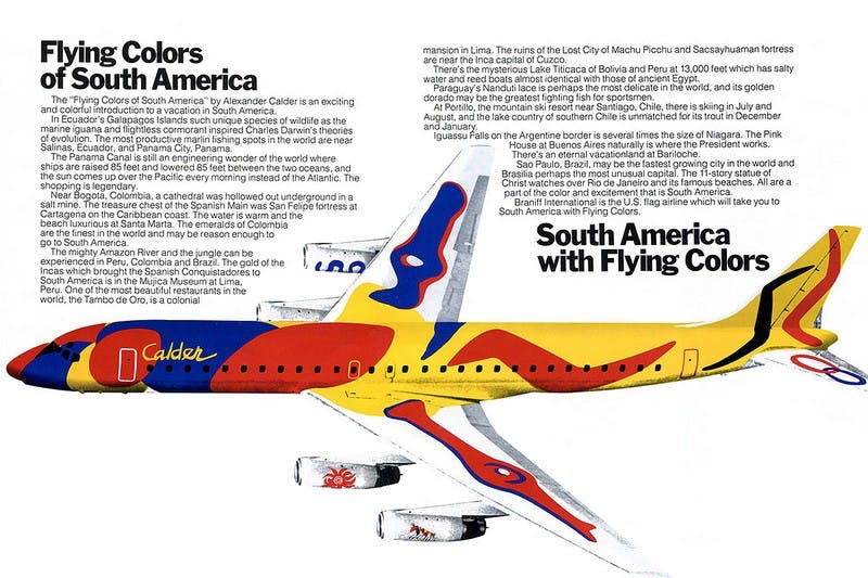 Flying Colours of South America