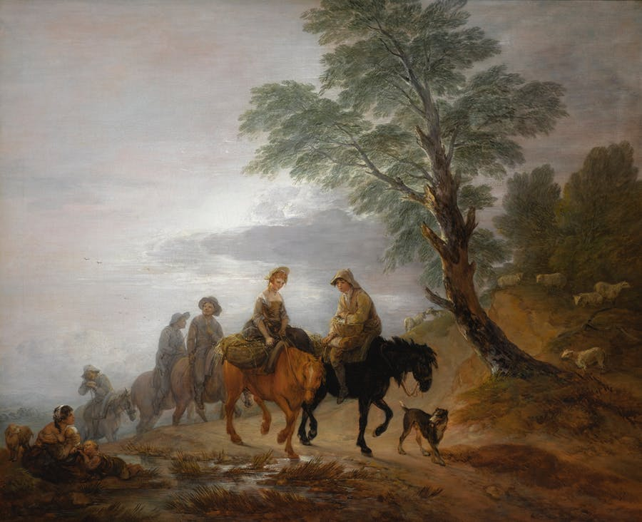 Thomas Gainsborough (1727 Sudbury - 1788 London), Going to Market, Early Morning, 1770er Jahre | Foto: Sotheby's