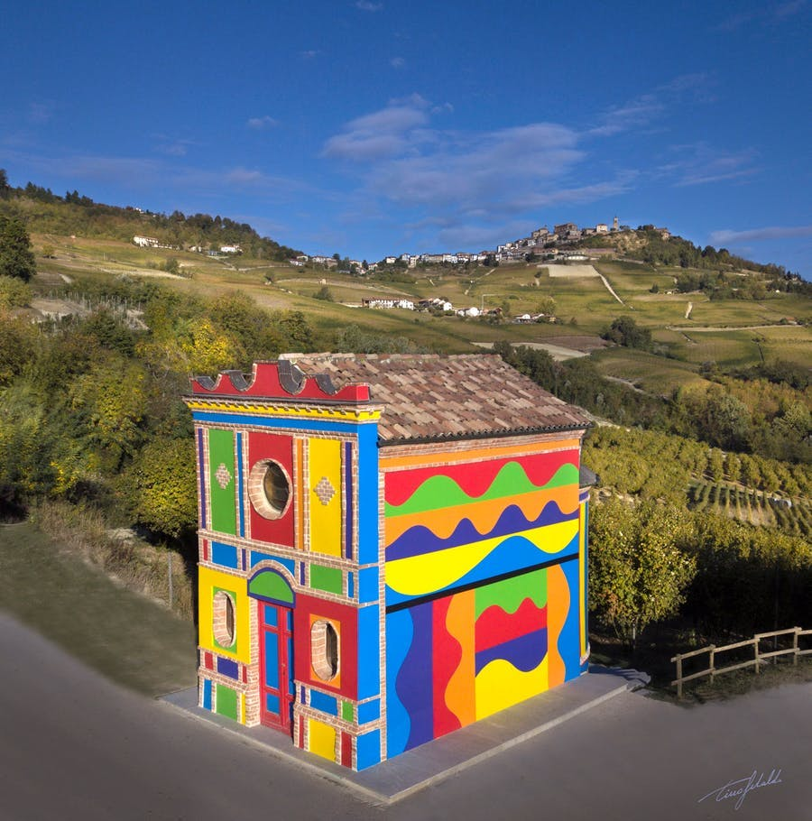 The Barolo Chapel. Photo: Ceretto Vini