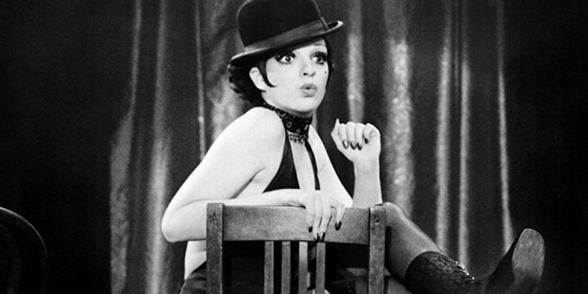 Liza Minnelli dans « Cabaret », 1971, image via amazon.com
