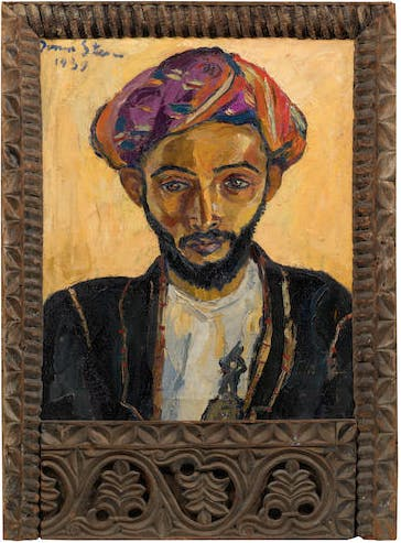 Irma Stern, « Arab in black », 1939, image ©Bonhams