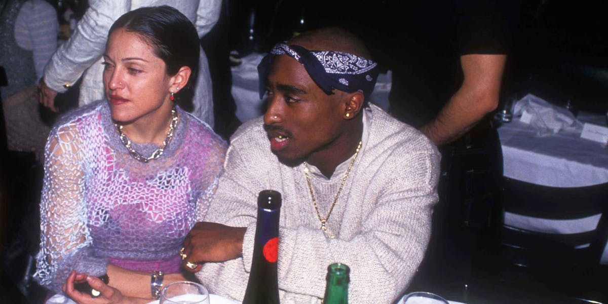 Letter revealing Tupac and Madonna's secret relationship up for auction