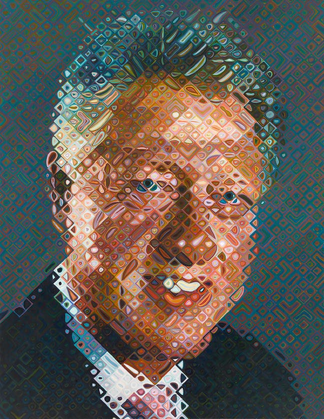 CHUCK CLOSE - William Jefferson Clinton, 2006
